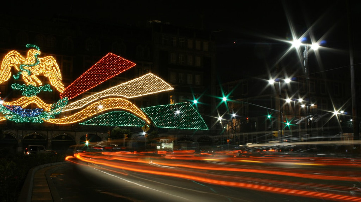 Mexico City lights | © Esparta Palma/Flickr
