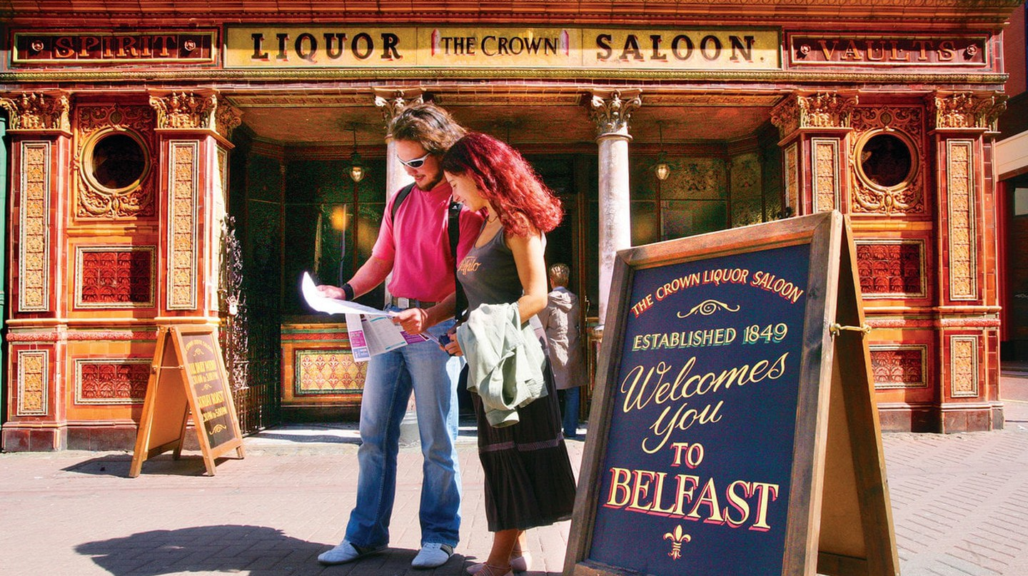 The Crown Bar, Belfast   Courtesy of Tourism NI