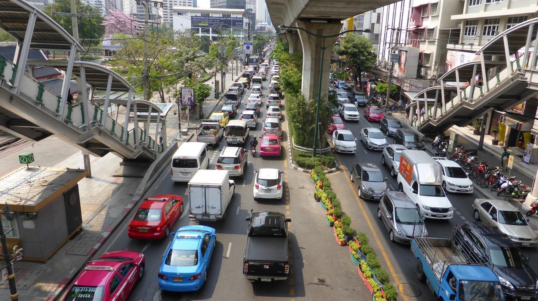 Bangkok traffic | ©David Johnson / Flickr