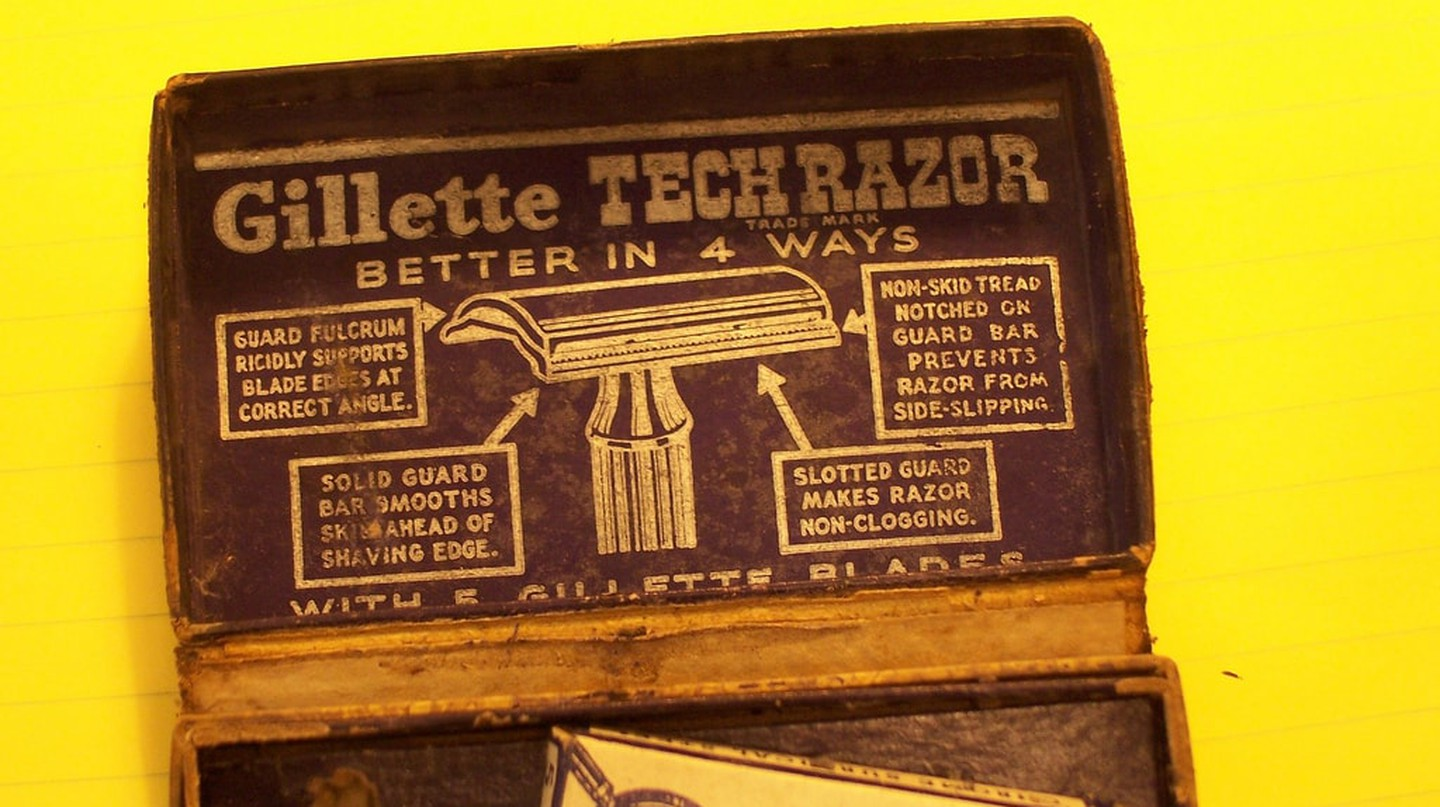 Gillette razor 3 | © C Zimmerman/Flickr