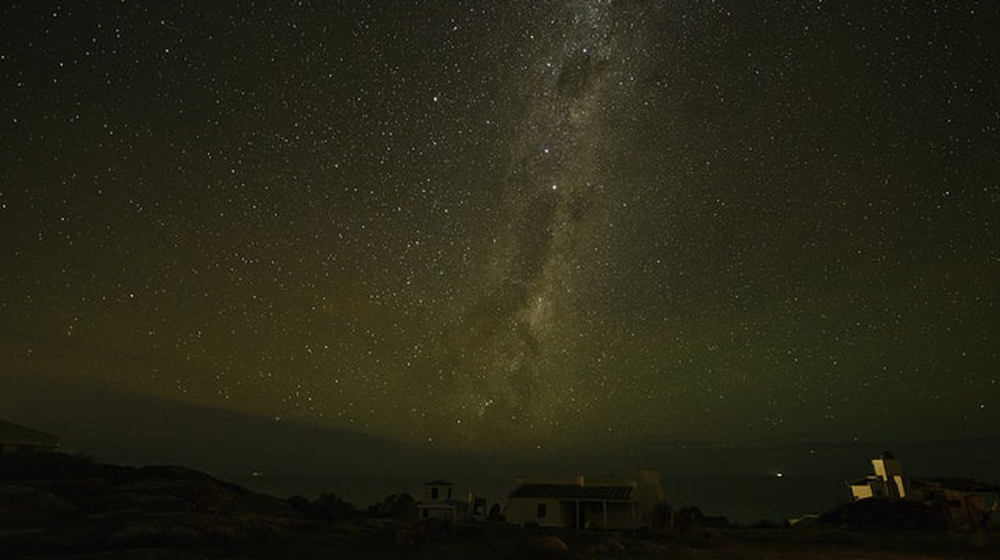 Milky Way at Cabo Polonio, Uruguay