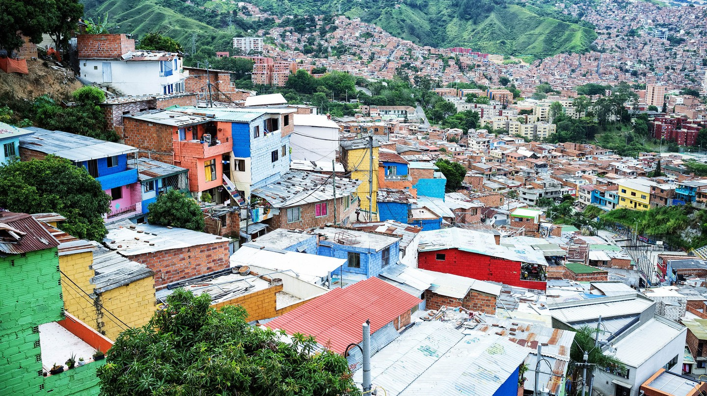 Comuna 13 in Medellin | © nigel burgher / Flickr