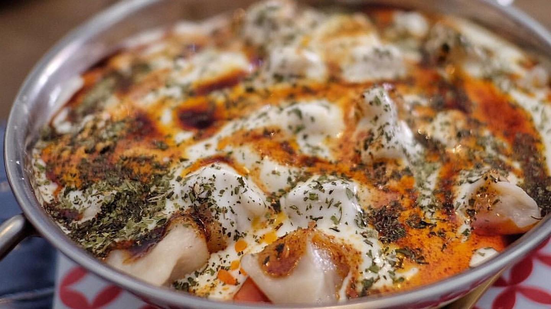 Manti dumplings