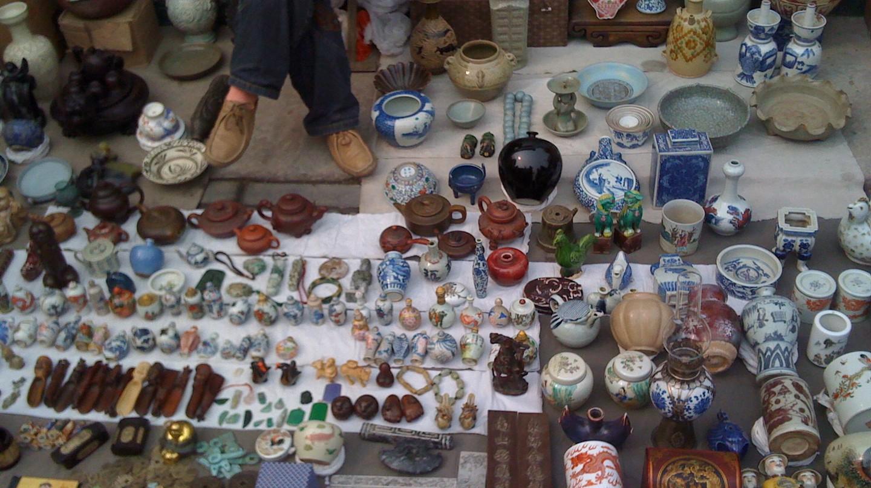Panjiayuan Antique Market | © paolo mutti / Flickr