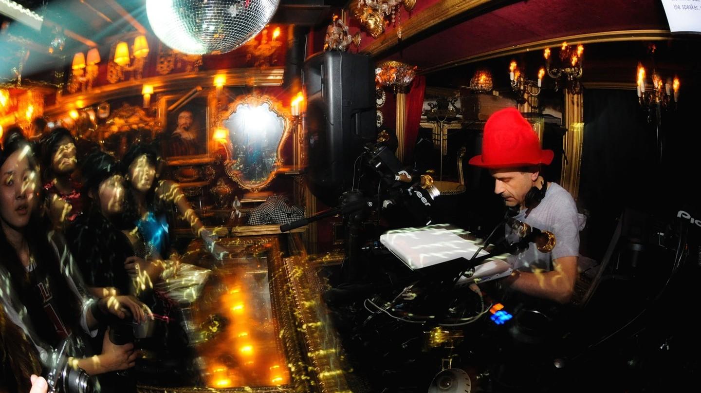 Jerry Bouthier DJ set Tokyo Trump Room    © dat' / Flickr