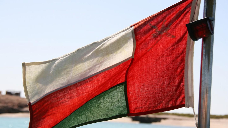 Omani Flag | © Marco Zanferrari/Flickr