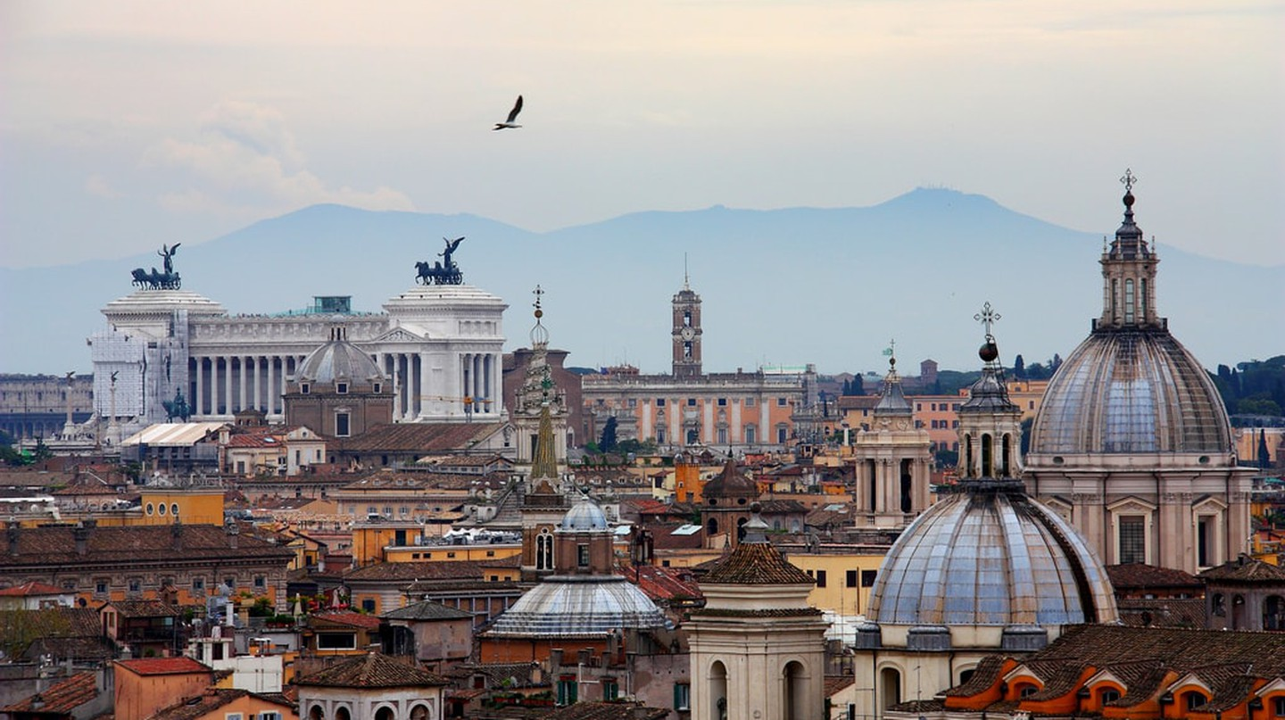 Mild October temperatures make it a great month to visit Rome | Wenjie, Zhang | A Certain Slant of Light/Flickr