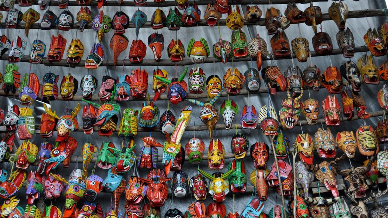 Wooden masks, Antigua Guatemala | © vanja b / Flickr
