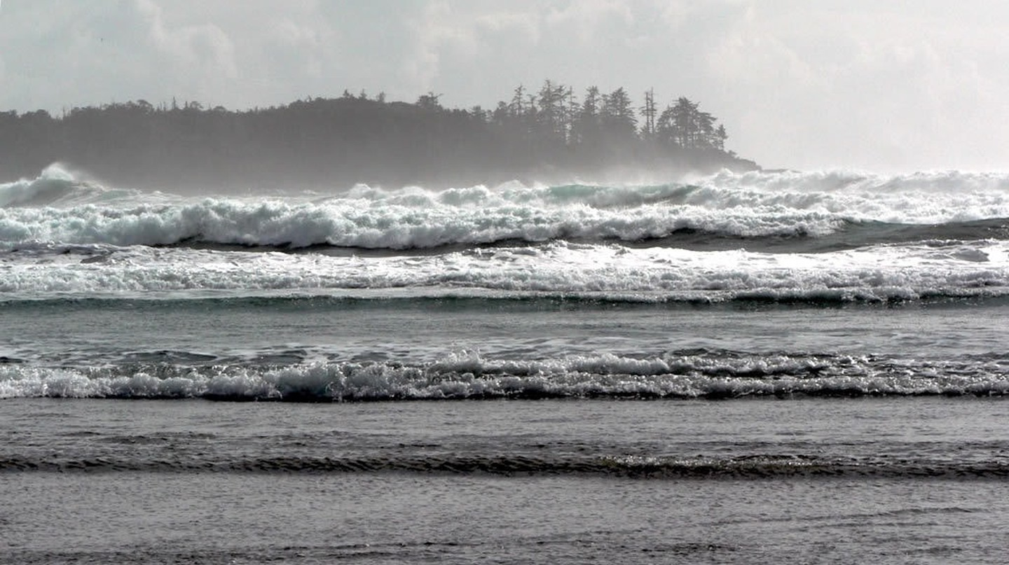 Tofino's stormy waves | © David Stanley / Flickr