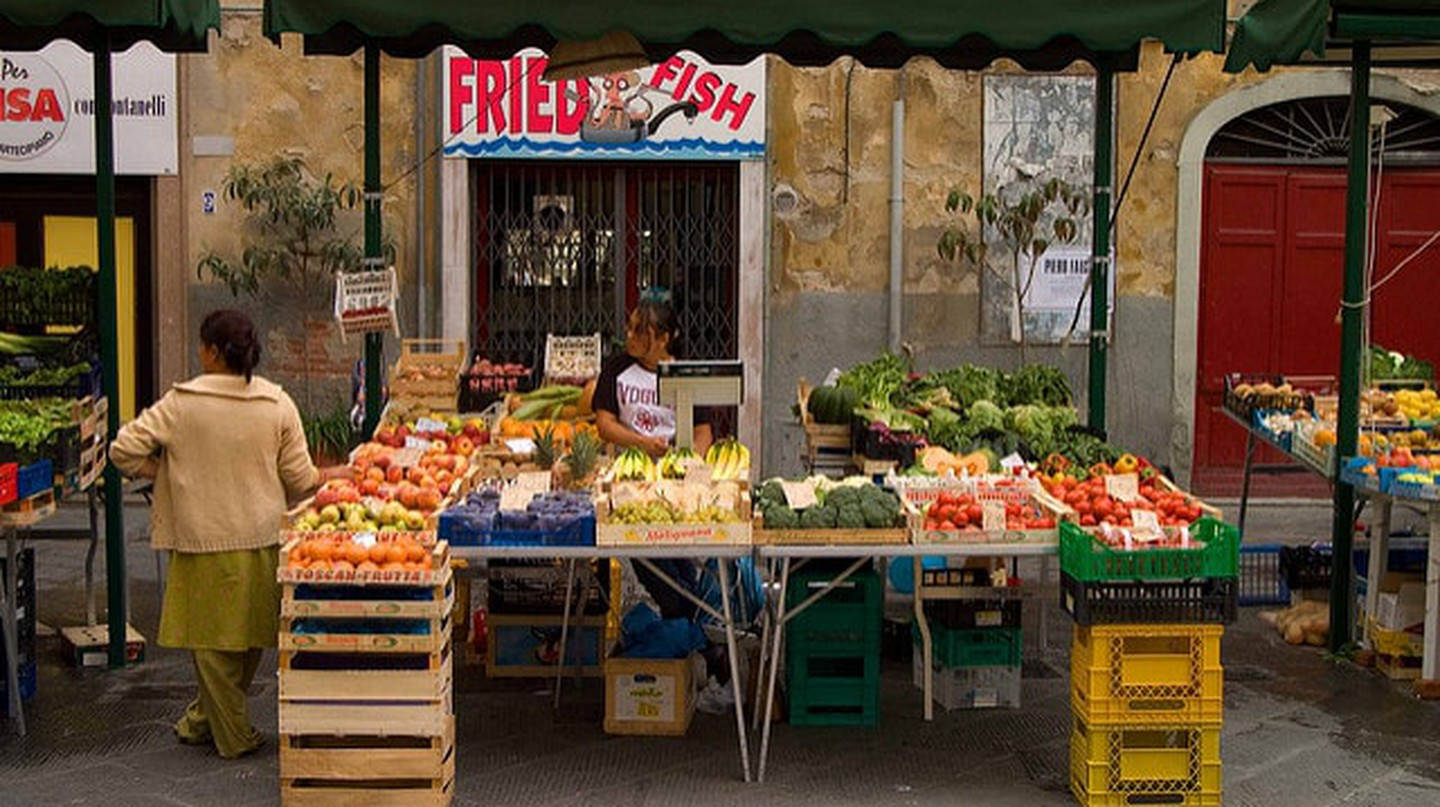 Market of Vettovaglie, Pisa|  ©Ryan Taylor/Flickr