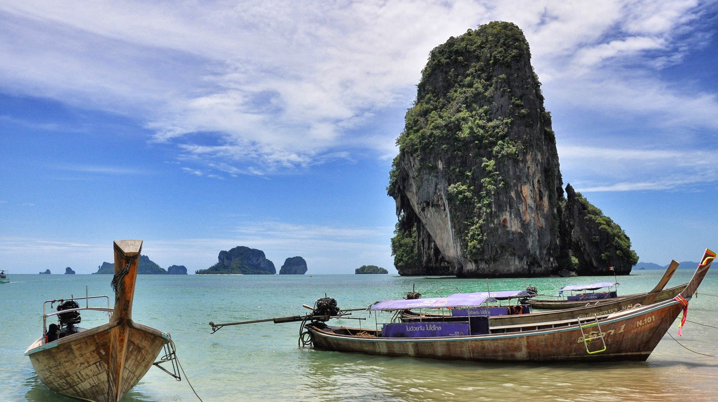 Phra Nang Beach at Krabi, Thailand | © chee.hong/Flickr