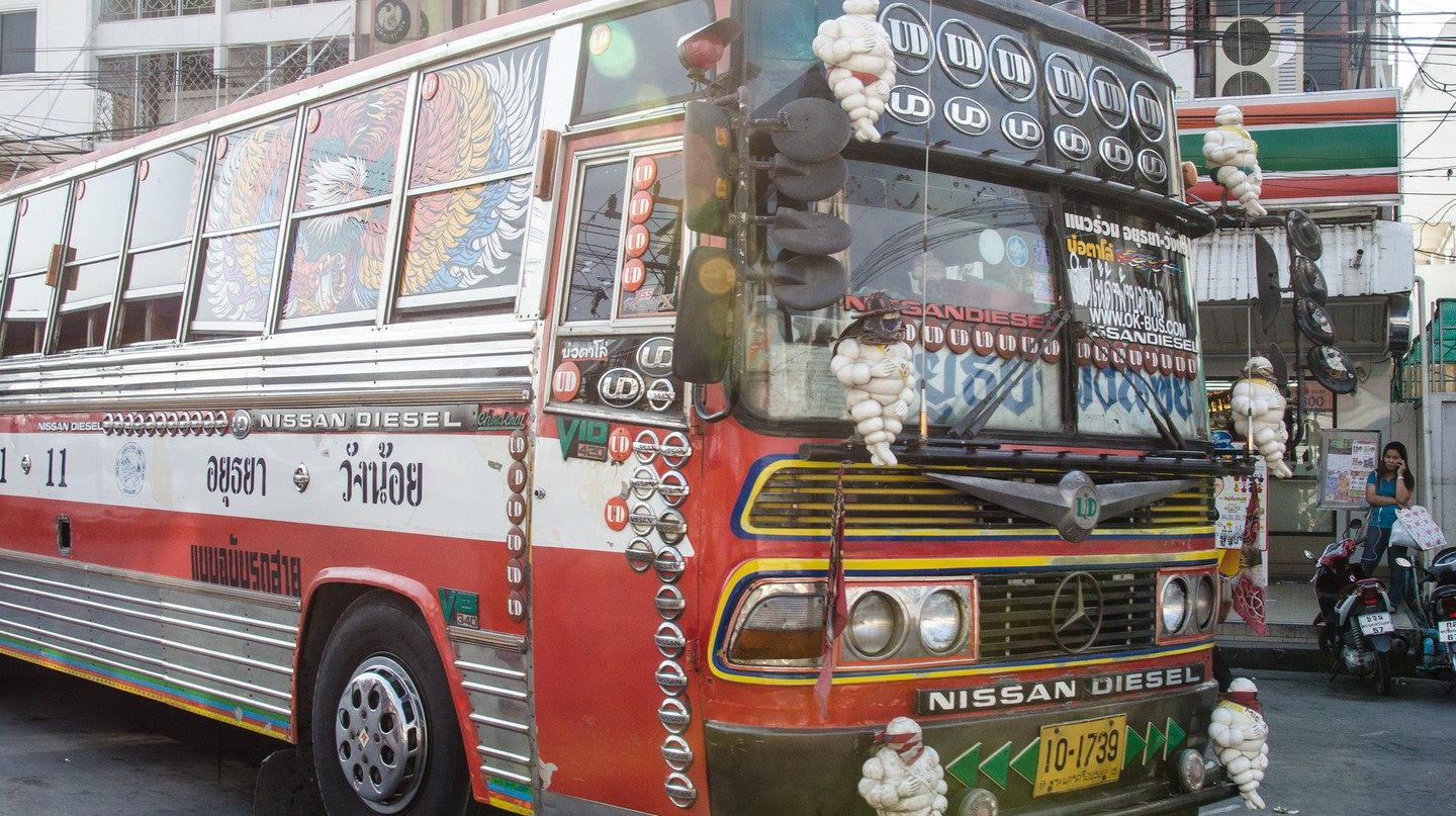 Local Thai bus | © cotaro70s/Flickr