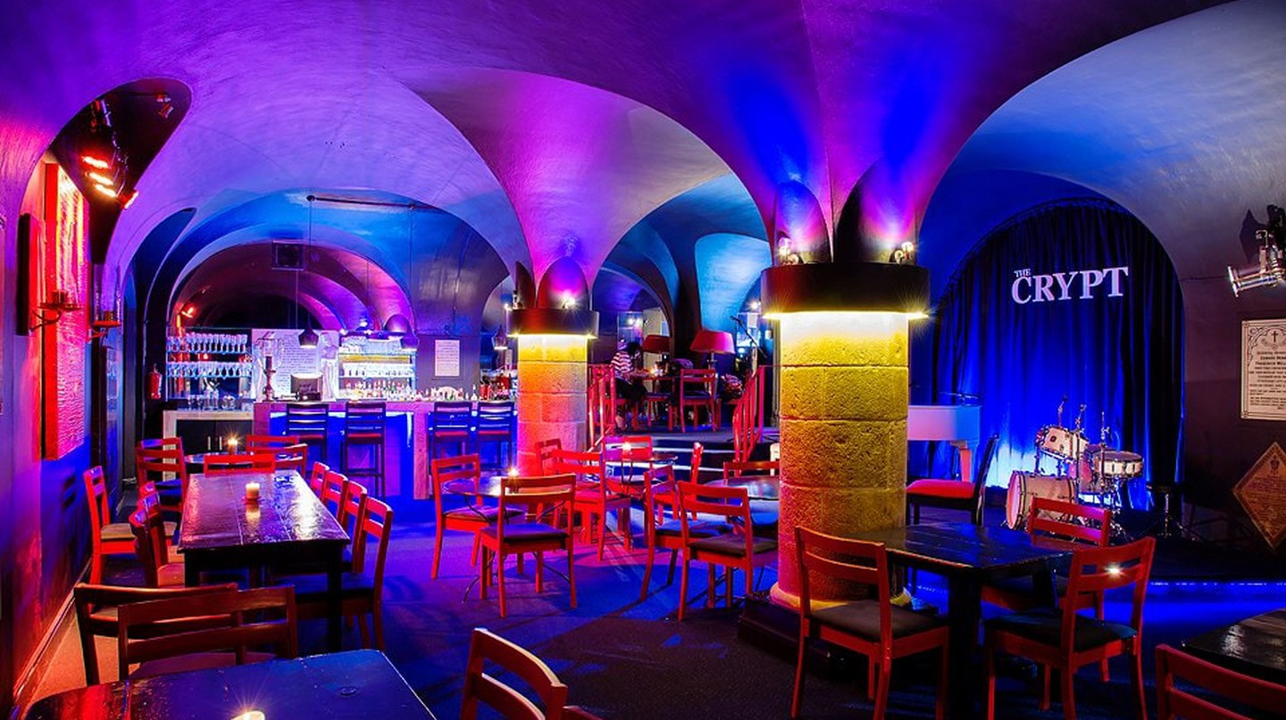 The Crypt Jazz Club, Cape Town | Courtesy The Crypt