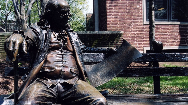A statue of Benjamin Franklin | © Jason Murphy / Flickr