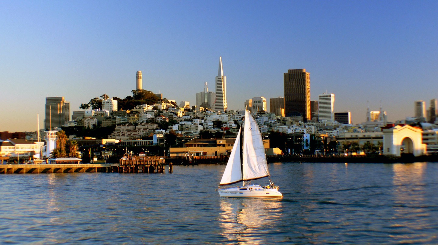 San Francisco Bay | © Bernard Spragg. NZ/Flickr