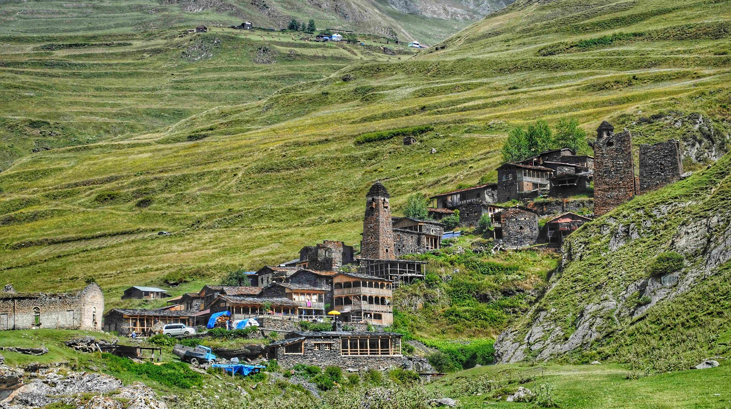 Village Dartlo in Tusheti | © Baia Dzagnidze