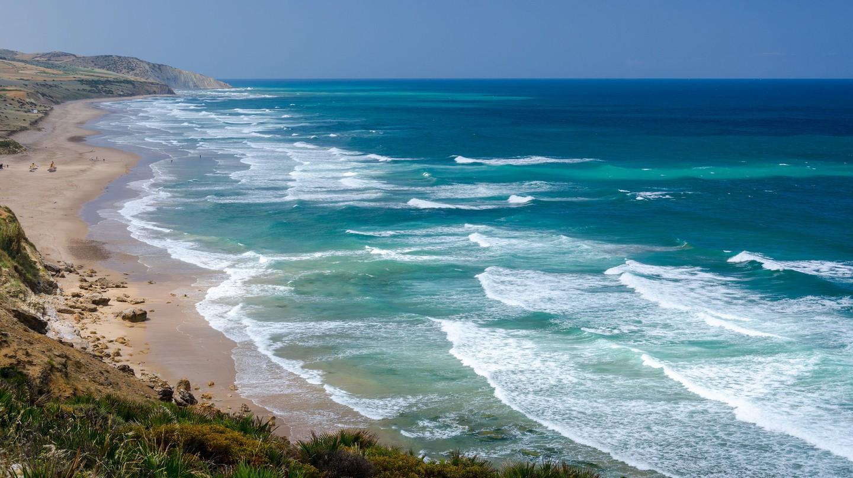 "<a href=""https://www.flickr.com/photos/massalim/14161726789/"" target=""_blank"">Beautiful beach in Morocco | © Fr Maxim Massalitin / Flickr</a>"