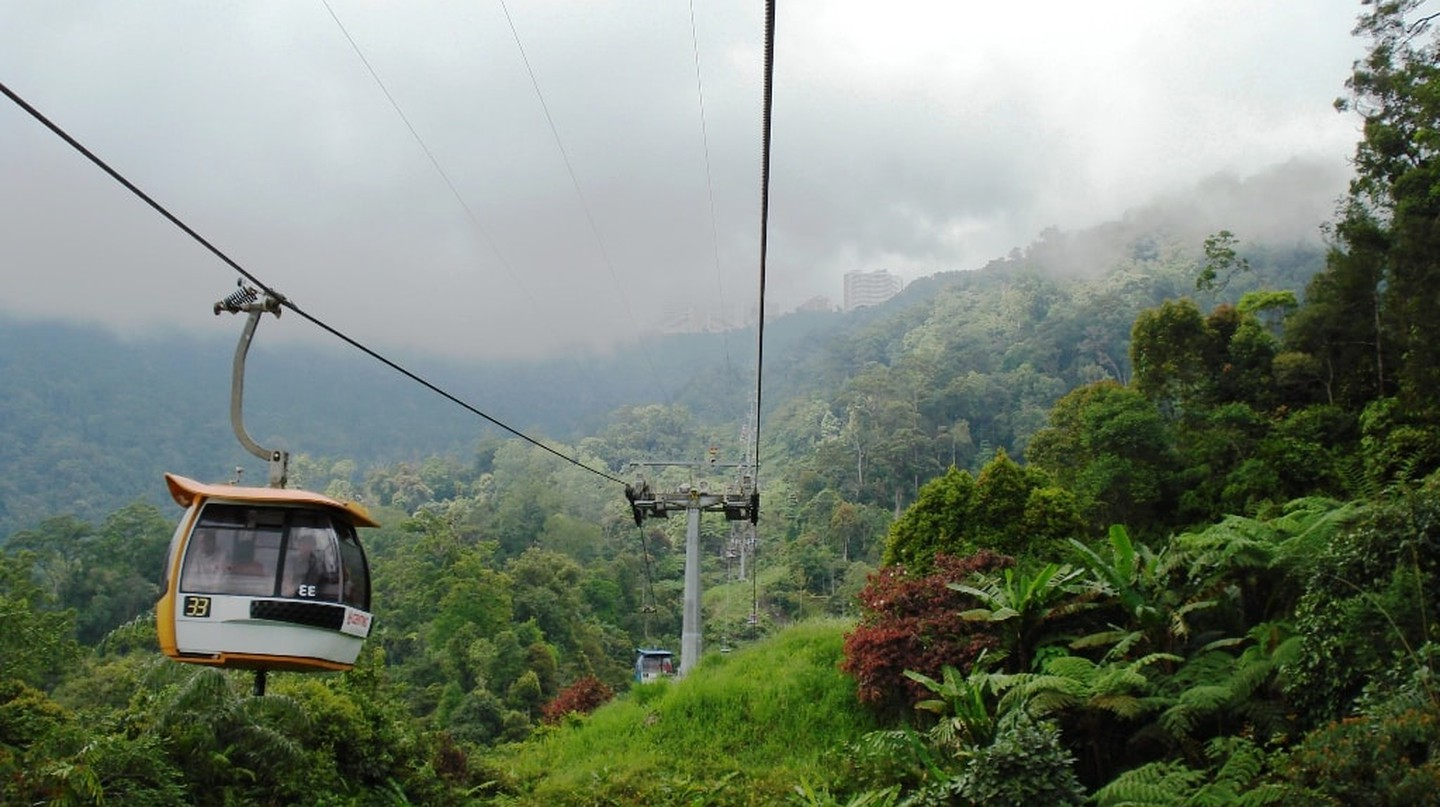 Cable car ride to Genting Highlands | © rajaraman sundaram / Wikimedia Commons