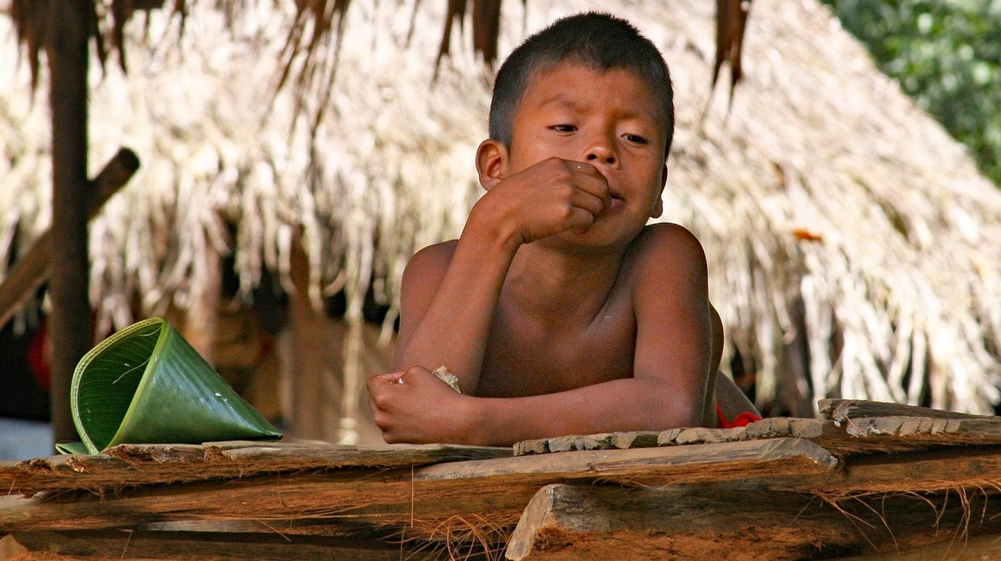 Emberá child, Panama I © cgordon8527 / Pixabay