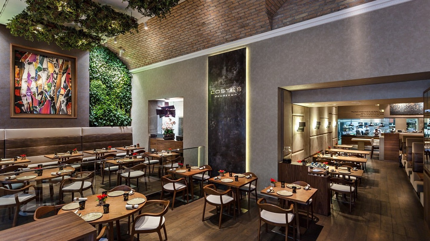 Costes Downtown Restaurant Budapest