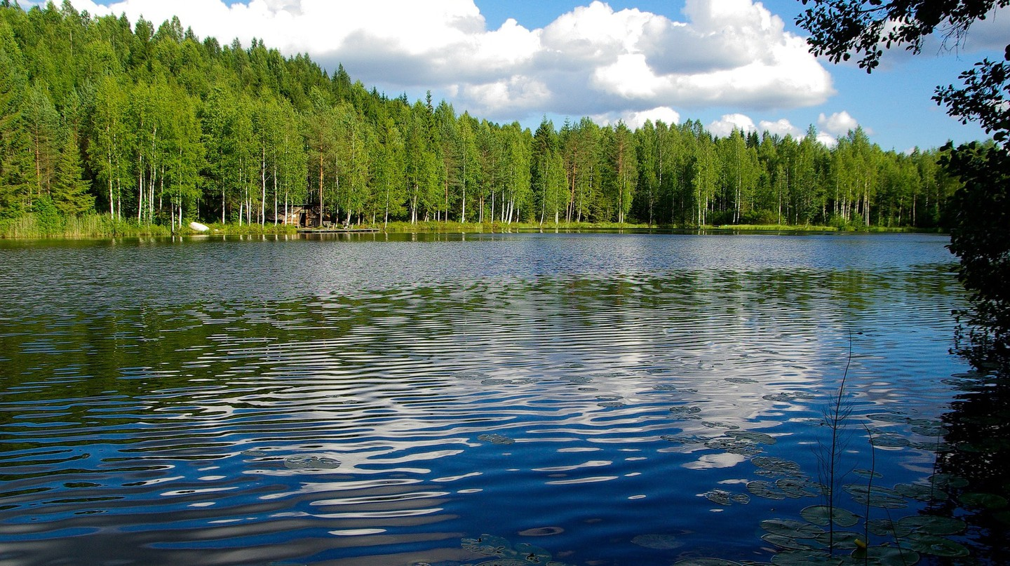 Finnish lake / jackmac34 / Pixabay