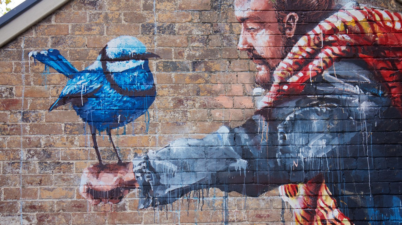 Fintan Magee mural | © JAM Project/Flickr