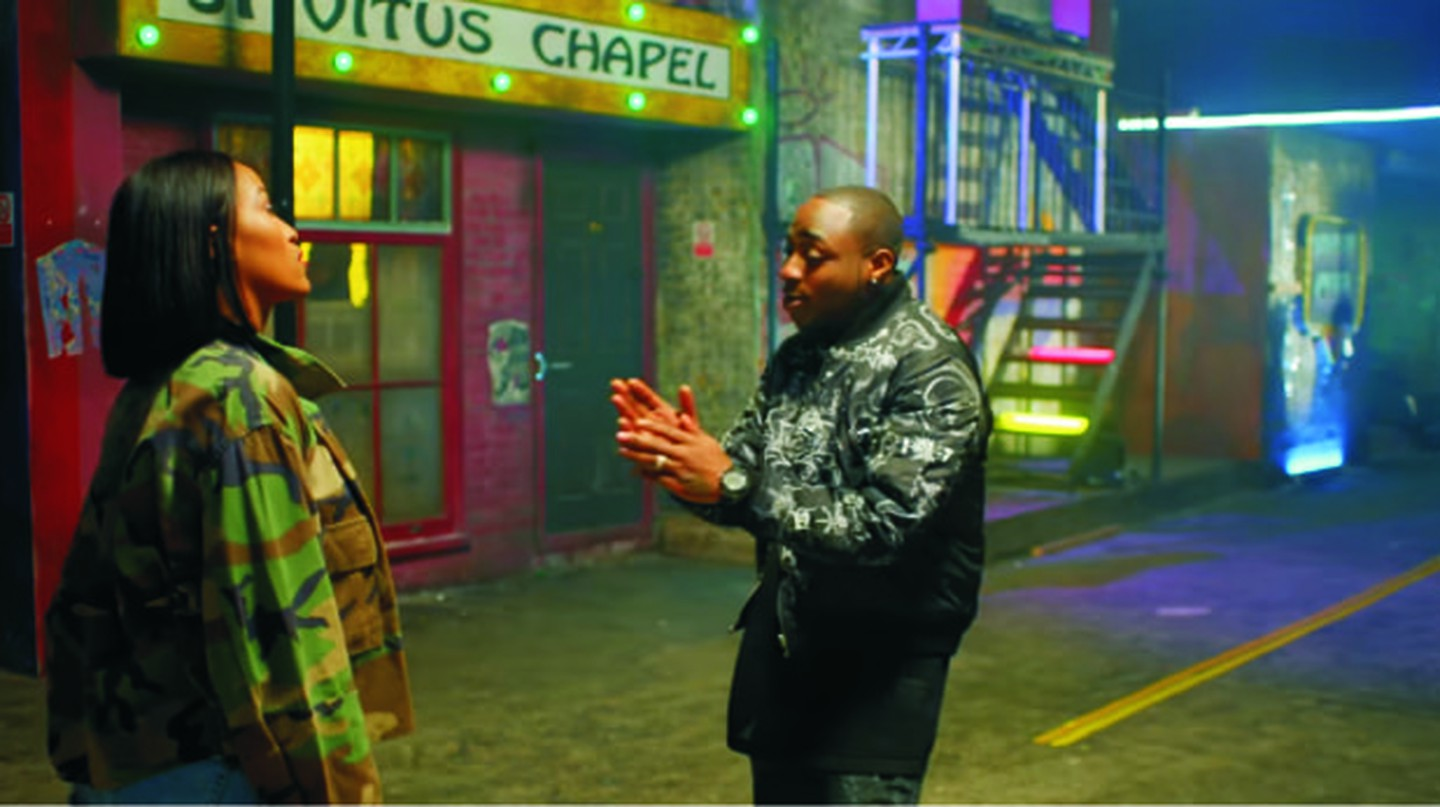 Davido performing 'If' | Sony Music Entertainment International Limited
