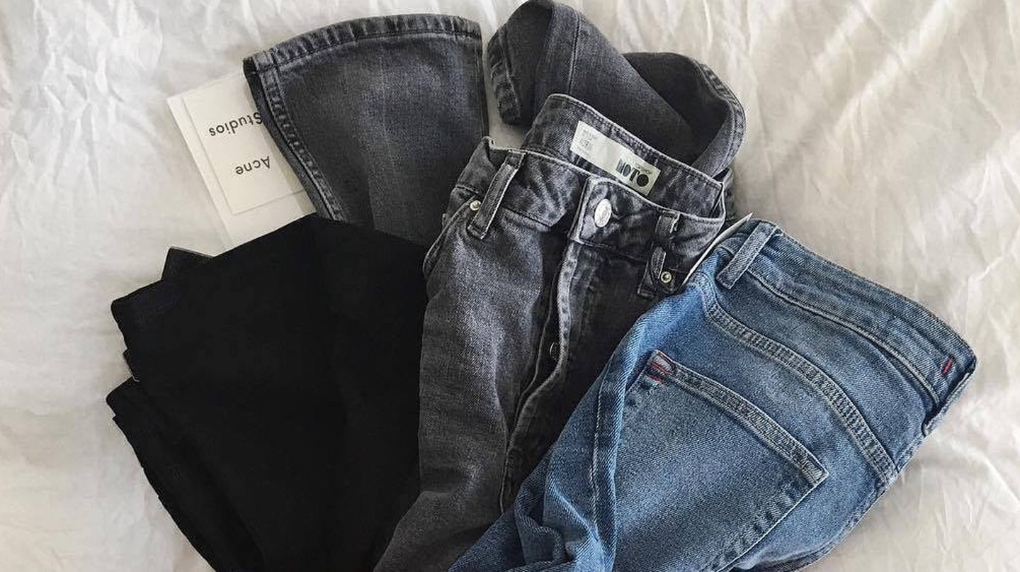 Jeans, Acne Studios | © Shot From The Street/Facebook