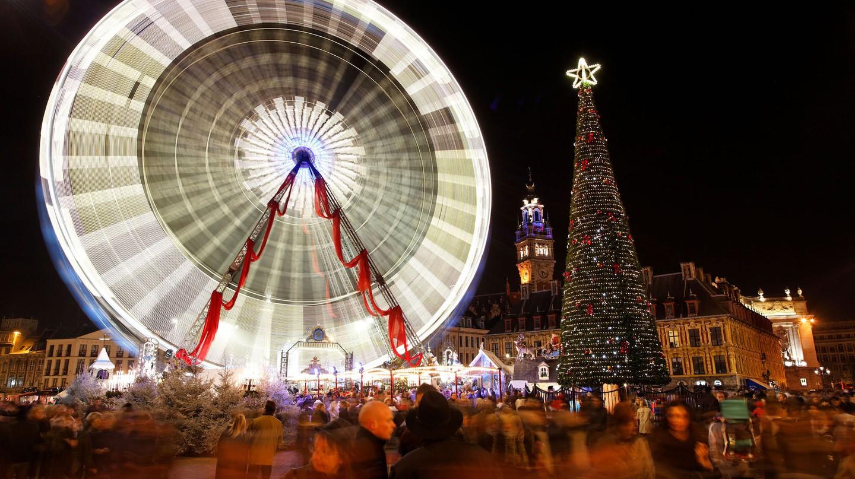 Christmas market ©OTCL Lille / Laurent Ghesquiére