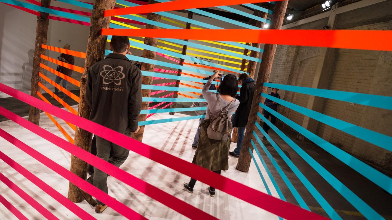 Maser's 'Here Now' on display in Vienna | © Nico Kaiser/ Flickr