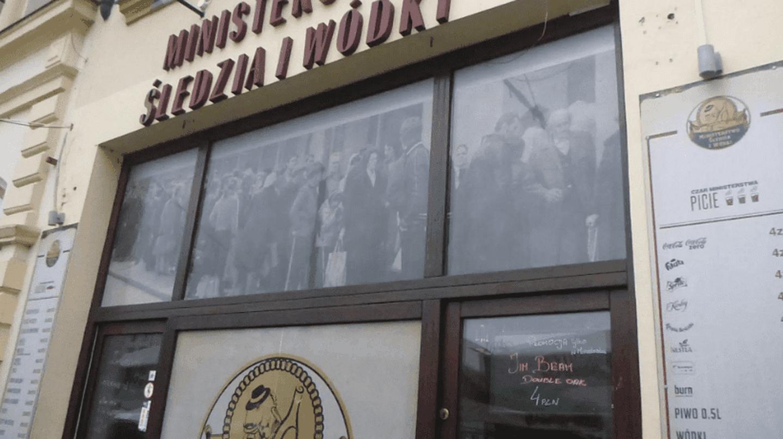 Ministerstwo Śledzia i Wódki | © Jonny Blair / Northern Irishman in Poland