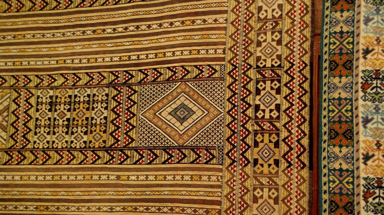 Closeup of details of a Moroccan rug   © Karsten Wentink / Flickr