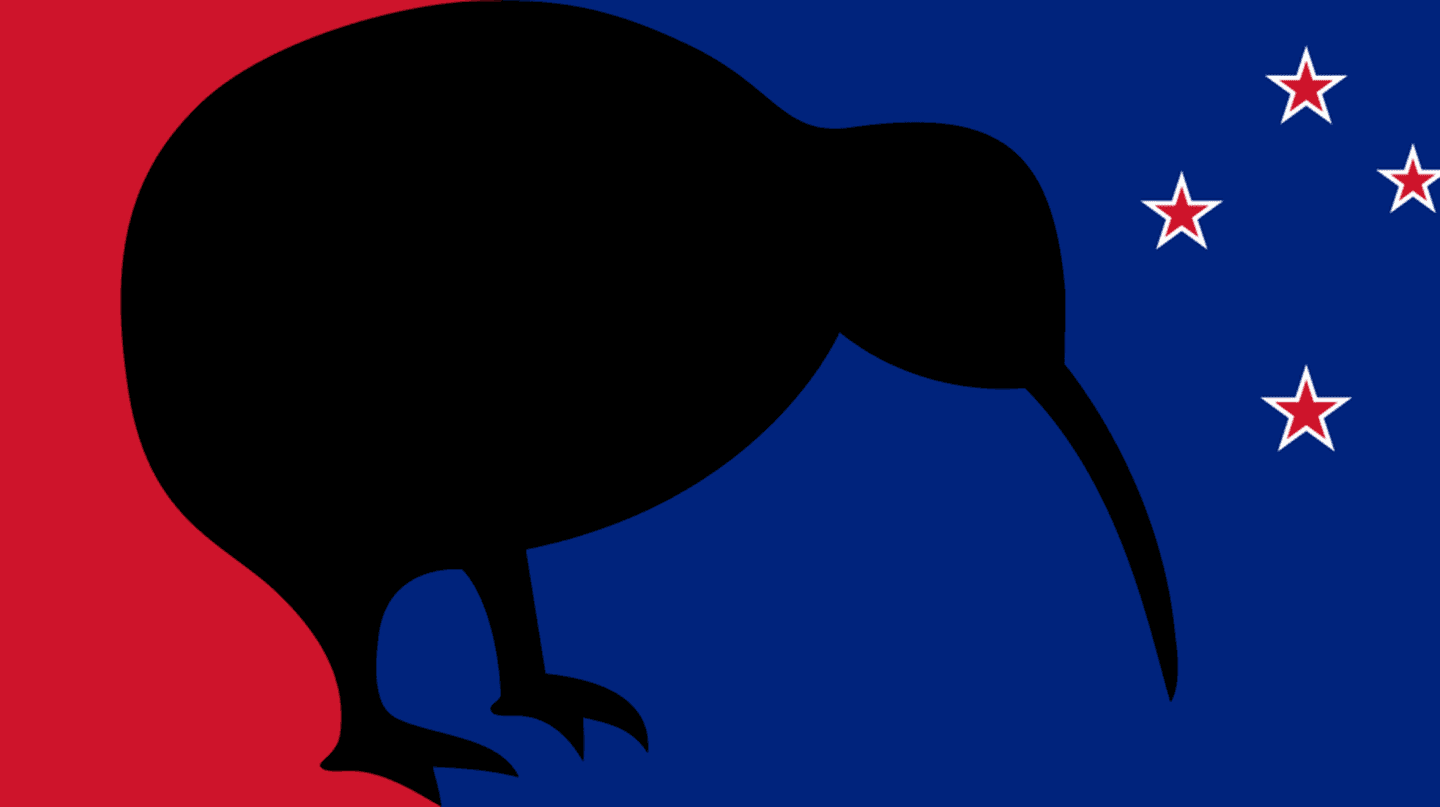 One of the Proposed Designs From New Zealand's Most Recent Flag Change Referendum  | © Wikimedia Commons