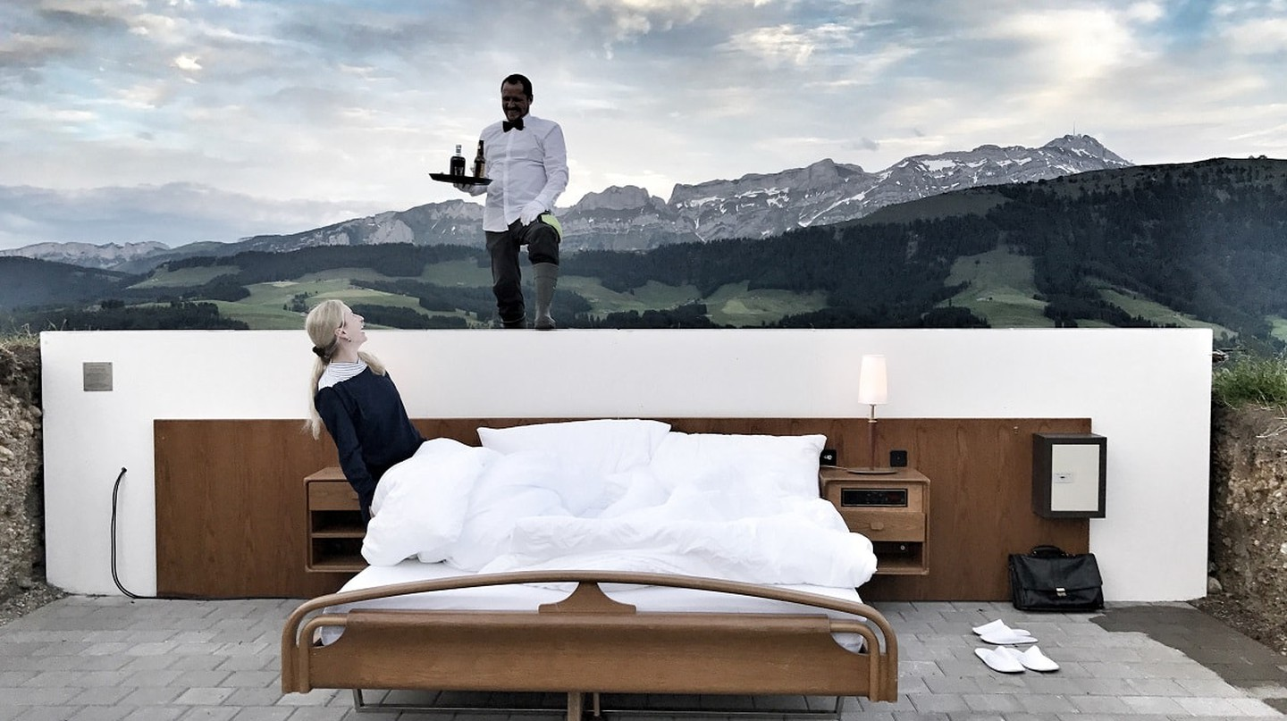 Take in a different view of the Alps | © Null Stern