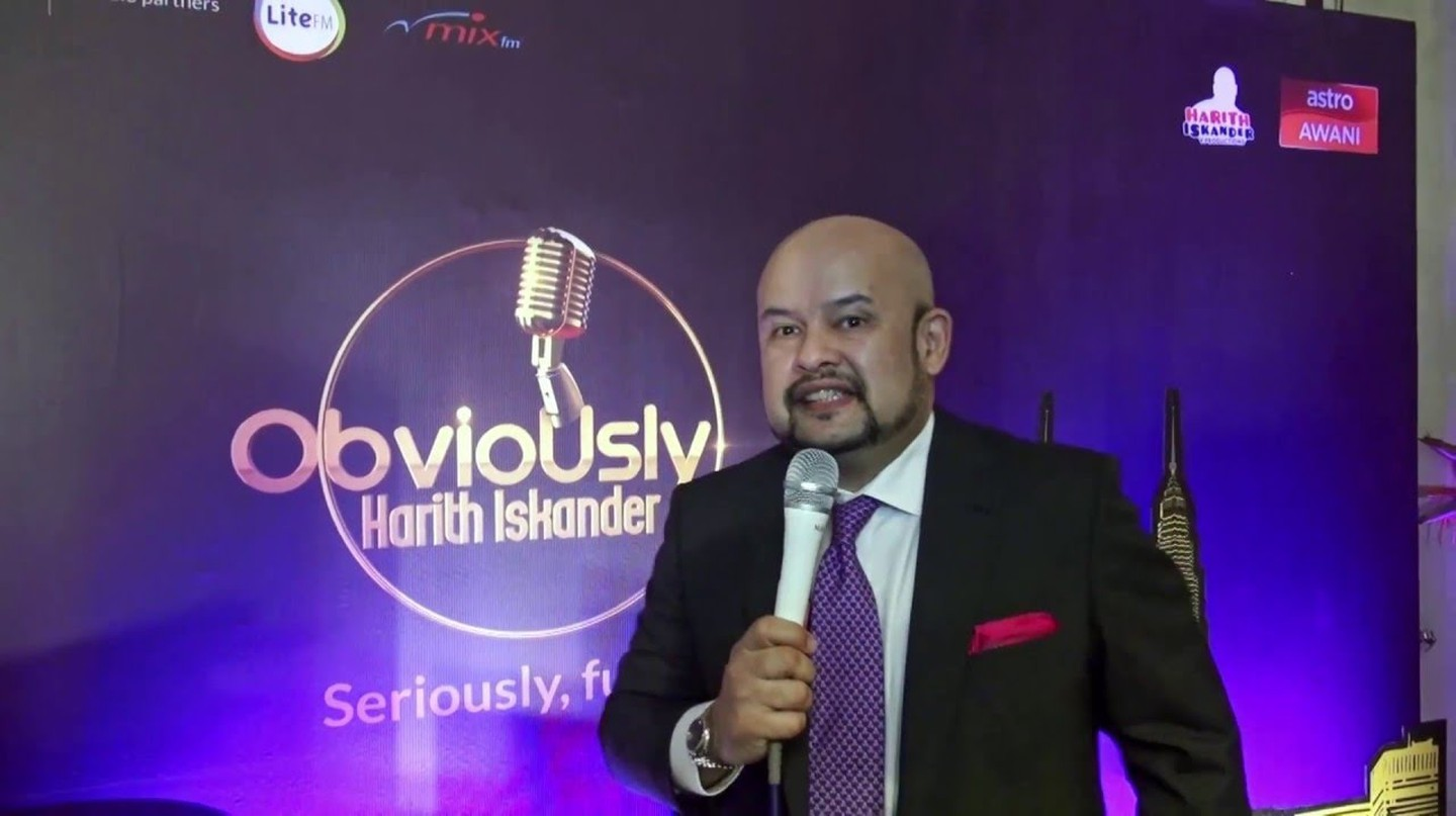 Harith Iskander hosts 'Obviously Harith Iskander'  | © Astro Malaysia/YouTube