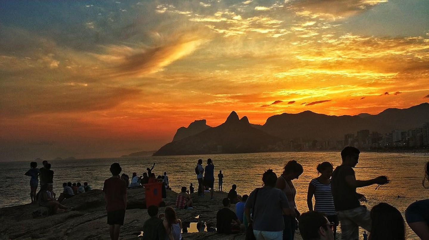 Sunset at Arpoador | © Deniltonlima/WikiCommons
