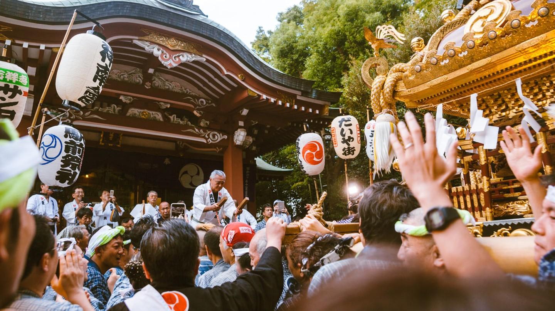 Festivals goers celebrating Kichijoji Matsuri | Mithila Jariwala / © Culture Trip
