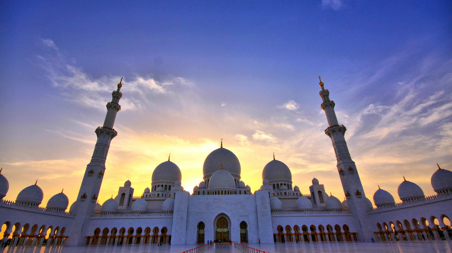 "Sheikh Zayed Grand Mosque, in honor of Sheikh Zayed the ""founder"" of the UAE 