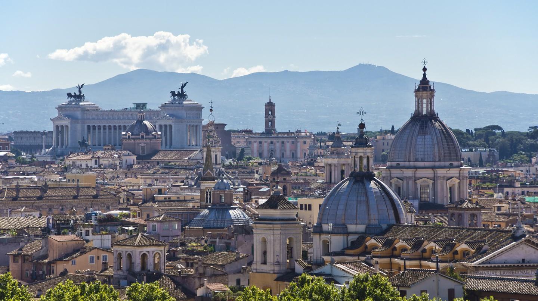 Rome skyline | © Bert Kauffman/Flickr