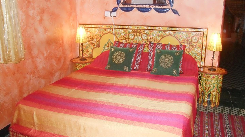 Inviting guestroom at Riad Le Mazagao in El Jadida | © Riad Le Mazagao