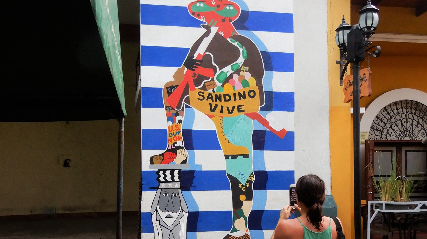 Sandino mural in Leon  | © Russell Maddicks / Flickr