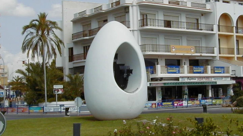 Antonio Hormigo's 'Egg' | © Flups /  Wikimedia Commons