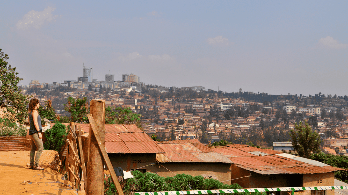 View of Kigali | Courtesy of Leah Feiger