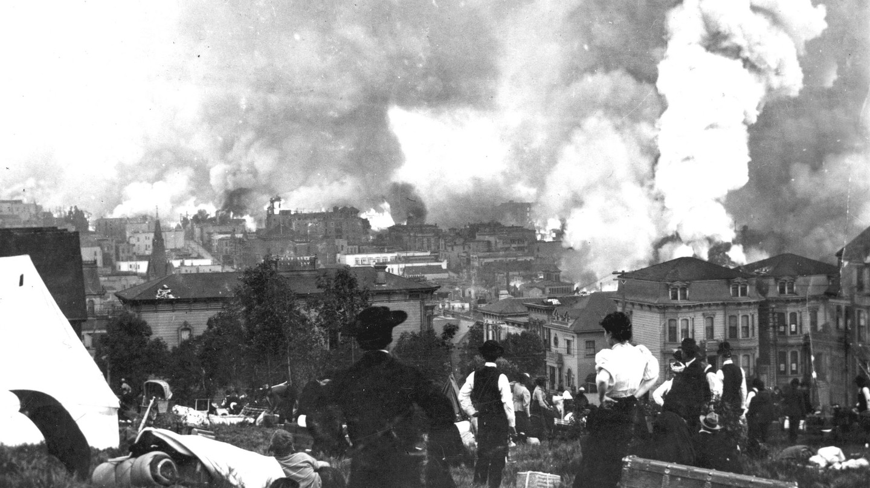 1906 San Francisco Earthquake | © U.S. Geological Survey / Flickr