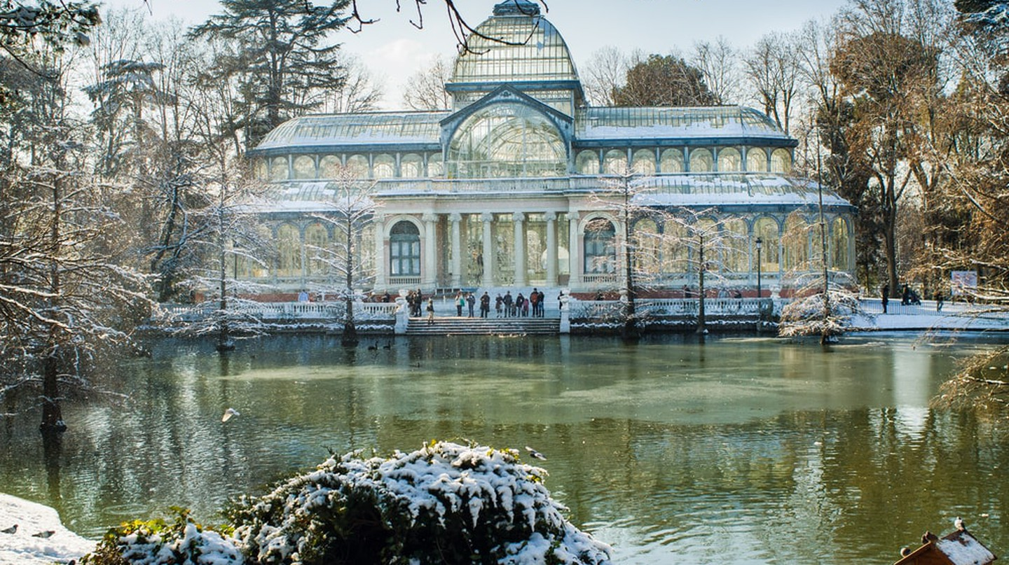 Crystal Palace in Retiro Park|©ahau1969/Shutterstock