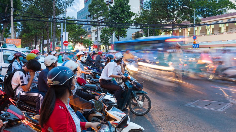Ho Chi Minh City traffic   © Elena Ermakova / Shutterstock