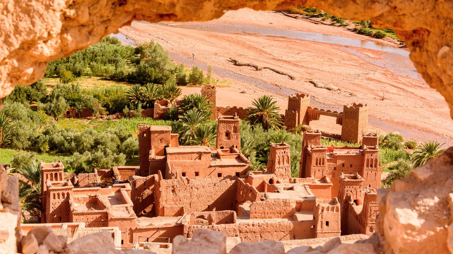 The old desert town of Ait Ben Haddou, Morocco | © Anton_Inanov / Shutterstock