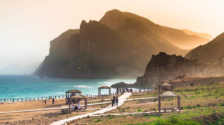 Dusk in Oman   © Shaheen Ummalil/Shutterstock
