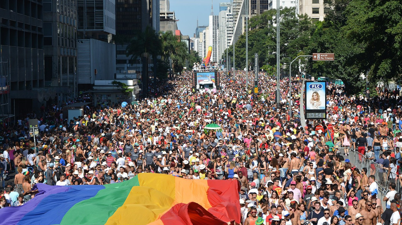 São Paulo LGBT Pride Parade 2014 | © Ben Tavener / Flickr