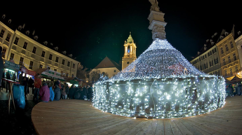 The Christmas Market in Bratislava | © Rob Sinclair/Flickr